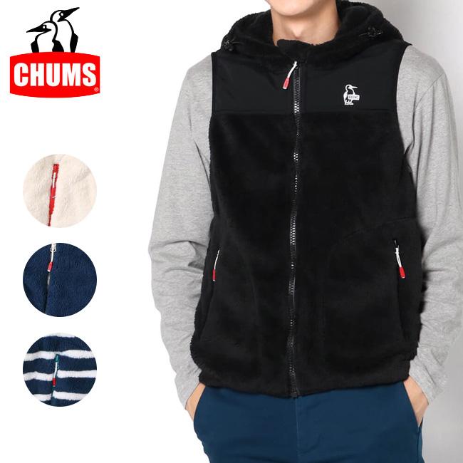 CHUMS チャムス Elmo Fleece Vest エルモフリースベスト CH04-1168 【アウトドア/もこもこ】