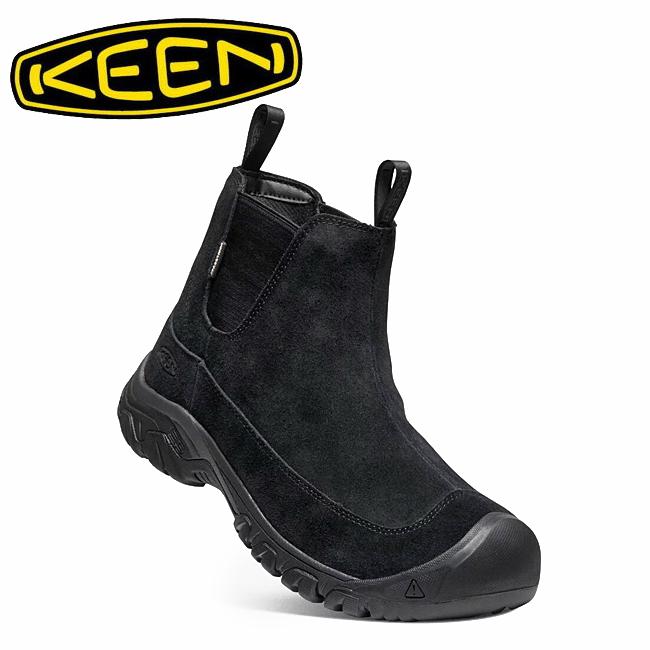 ★ KEEN キーン ANCHORAGE BOOT III SD アンカレッジブーツ BLACK/RAVEN 1021577 【メンズ/防水ウィンターブーツ/サイドゴア/カジュアル/アウトドア】
