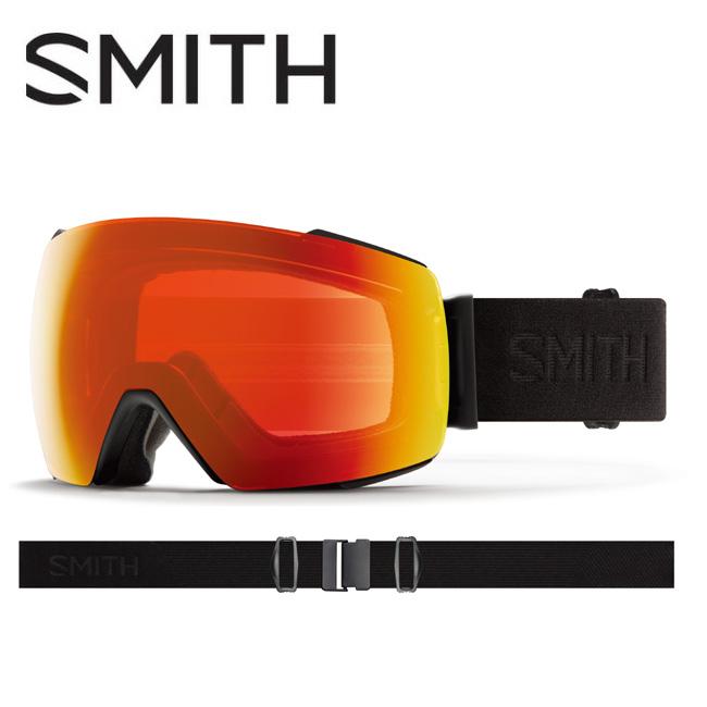 2020 スミス SMITH OPTICS I/O MAG Blackout CP Photochromic Red Mirror【調光】 / Clear 010260032 【ゴーグル/日本正規品/ジャパンフィット/アジアンフィット】
