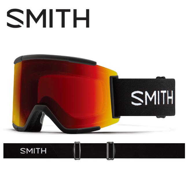 ★ 2020 スミス SMITH OPTICS Squad XL Black CP Sun Red Mirror / CP Storm Rose Flash 010260110 【ゴーグル/日本正規品/ジャパンフィット/アジアンフィット】