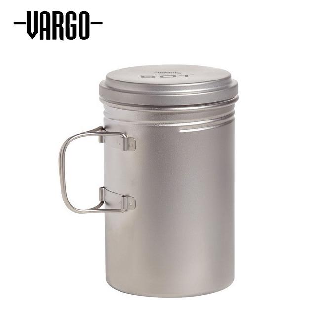 ★ VARGO バーゴ チタニウムボットHD T-482 【ポット/ボトル/クッカー/アウトドア/キャンプ】
