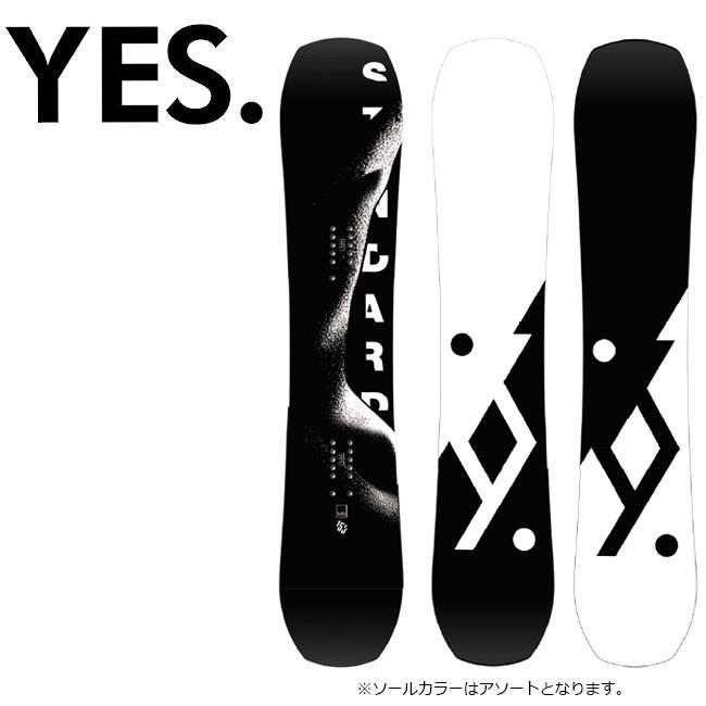 2020 YES. イエス Standard スタンダード 【2020/スノーボード/スノー/日本正規品】