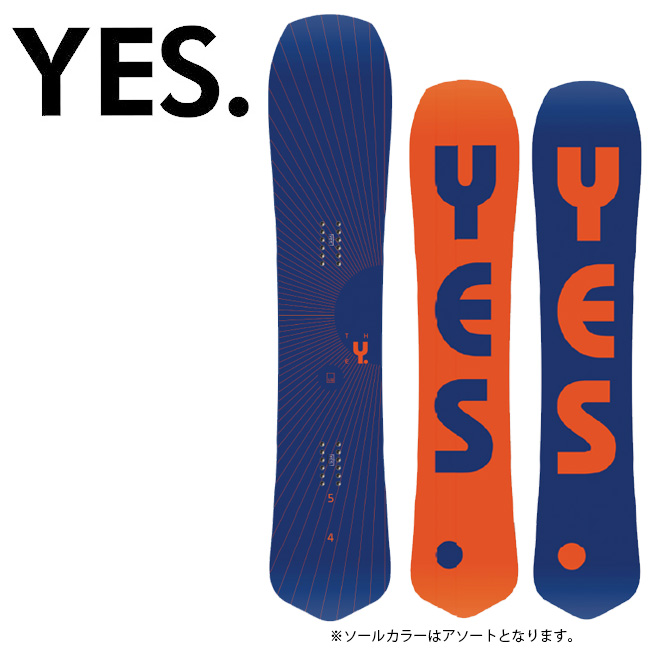 2020 YES. イエス The Y. 【2020/スノーボード/スノー/日本正規品】