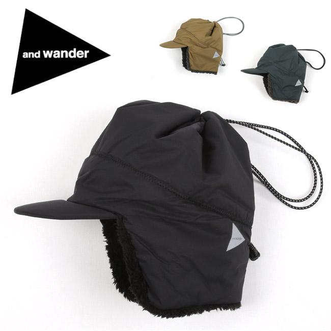 ★ and wander アンドワンダー PRIMALOFT cap プリマロフトキャップ AW93-AA737 【ヘッドウェア/おしゃれ/アウトドア】