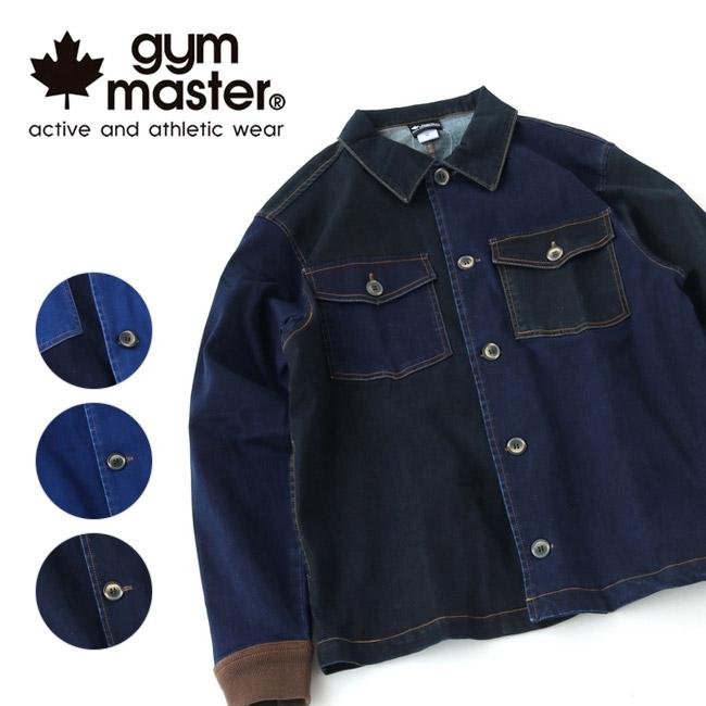 gym master ジムマスター ストレッチデニムシャツジャケット G333629 【メンズ/アウター/アウトドア】