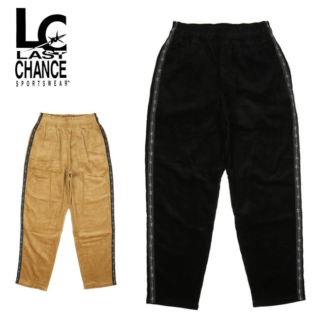 LAST CHANCE ラストチャンス CORDUROY EASY PANTS コーデュロイイージーパンツ LC19FW-013 【ボトムス/メンズ/アウトドア】