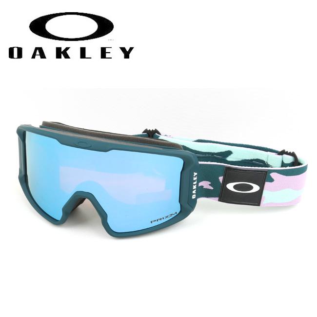★ 2020 OAKLEY オークリー Line Miner XM Pink Camo Prizm Sapphire Iridium oo7093-19 ゴーグル 【日本正規品/スノーボード/スキー】