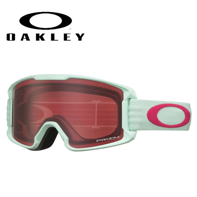 ★ 2020 OAKLEY オークリー Line Miner Youth Jasmine Red Prizm Rose oo7095-21 ゴーグル 【日本正規品/キッズ/ジュニア/スノー】