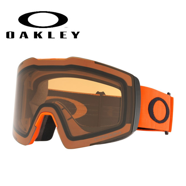 2020 OAKLEY オークリー Fall Line XL Neon Orange Black Prizm Persimmon oo7099 【日本正規品/スノー】