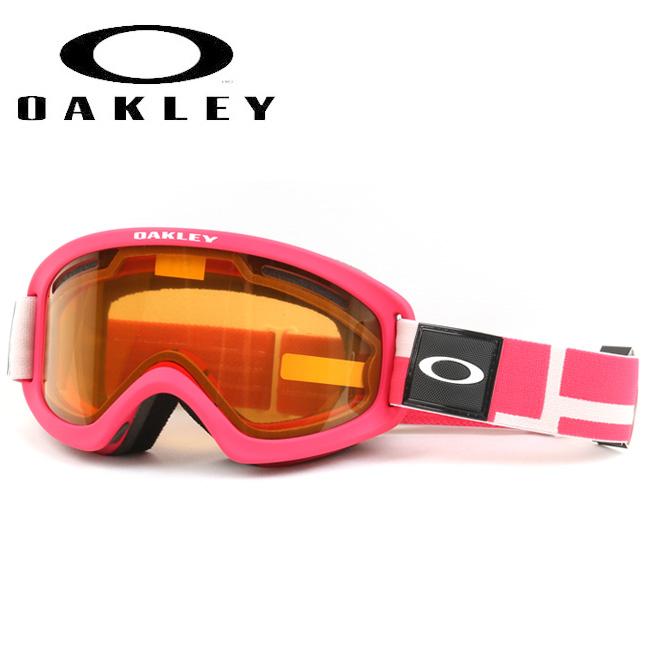 2020 OAKLEY オークリー O Frame 2.0 PRO XS Iconography Pink Persimmon+Dark Grey oo7114-05 ゴーグル 【日本正規品/キッズ/ジュニア/スノー/スペアレンズ】