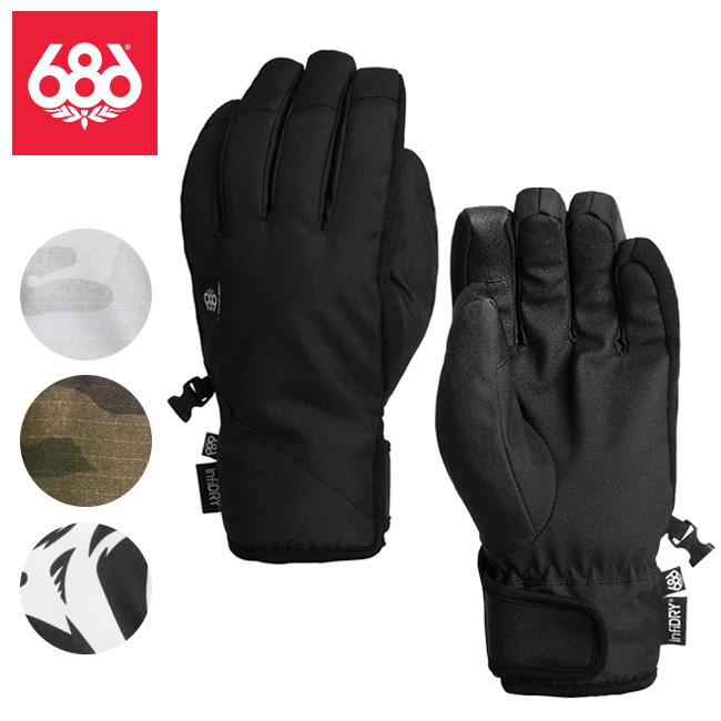 2020 686 SIX EIGHT SIX シックス エイト シックス Ruckus Pipe Glove ラッカスパイプグローブ L9WGLV16 【2020/手袋/スノーボード/日本正規品】