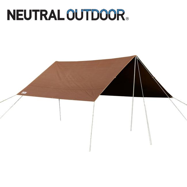 NEUTRAL OUTDOOR ニュートラルアウトドア NT-TA11 TC タープ 4.0 46273 【アウトドア/キャンプ/日除け】