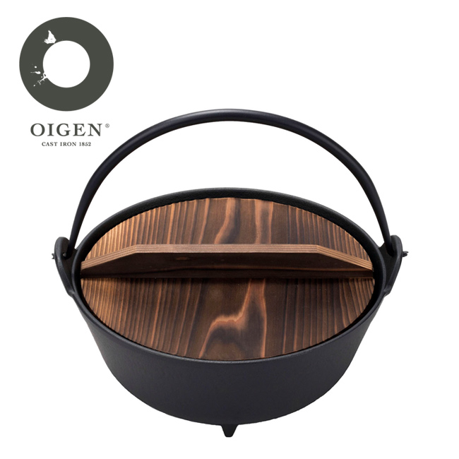 OIGEN オイゲン 丸鍋7寸 F-021 【アウトドア/キッチン/キャンプ/炊きもの】