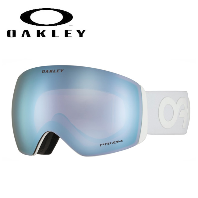 ★ 2020 OAKLEY オークリー Flight Deck Factory Pilot Whiteout Prizm Sapphire Iridium oo7050-37 ゴーグル 【日本正規品/スノーボード/スキー】