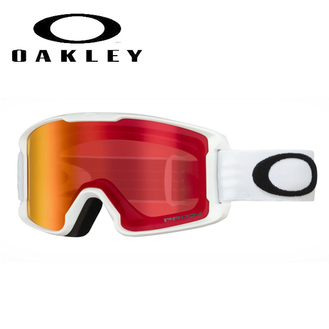 ★ 2020 OAKLEY オークリー Line Miner Youth Matte White Prizm Torch Iridium oo7095-08 ゴーグル 【日本正規品/スノーボード/スキー】