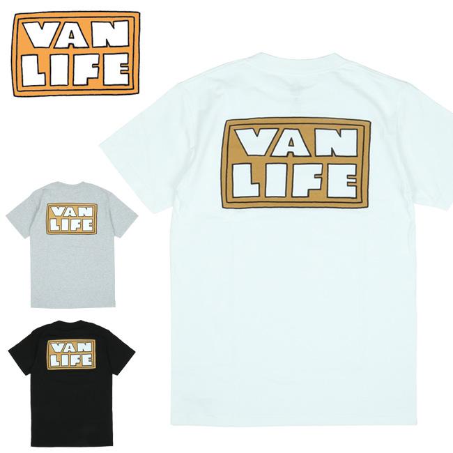 VAN LIFE バンライフ POCKET T-SHIRTS ポケットティーシャツ VL-02-006 【半袖/トップス/アウトドア/カジュアル】【メール便・代引不可】