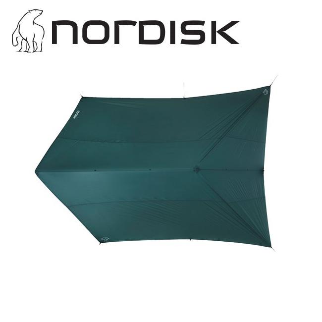 ★ NORDISK ノルディスク Voss 20 m2 SI ヴォス Forest Green 117013 【アウトドア/キャンプ/タープ/日よけ/防災】