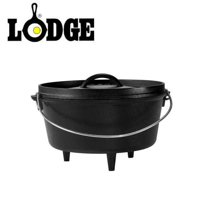 ★ LODGE ロッジ キャンプオーヴン 10インチディープ L10DCO3 19240120 【アウトドア/キャンプ/ダッチオーブン/料理/BBQ】