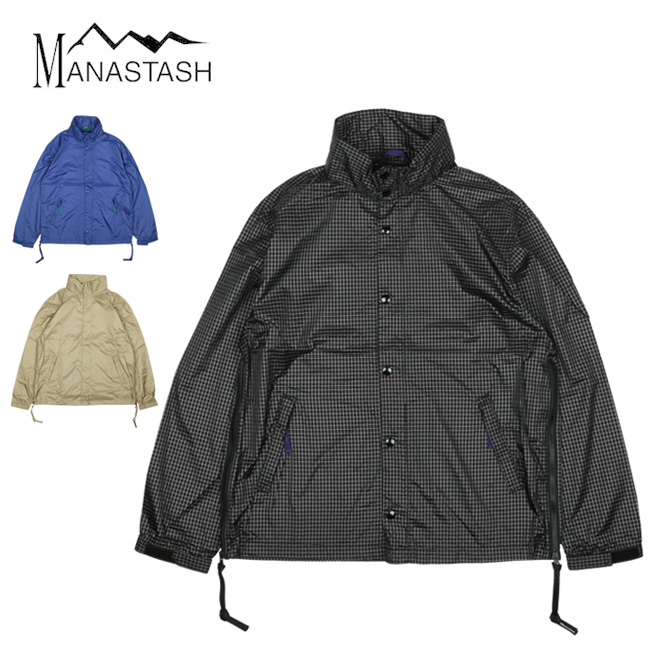 ★ MANASTASH マナスタッシュ M-RIP COACHER リップコーチャー 7102043 【トップス/アウター/ジャケット/メンズ/アウトドア】