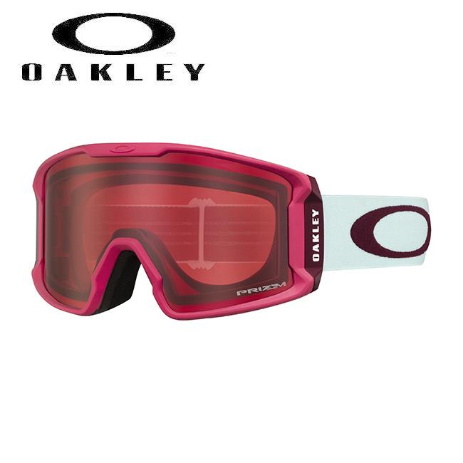 ★ 2020 OAKLEY オークリー Line Miner XM Strong Red Jasmine Prizm Rose ラインマイナー oo7093-21 ゴーグル 【日本正規品/スノーボード/スキー】