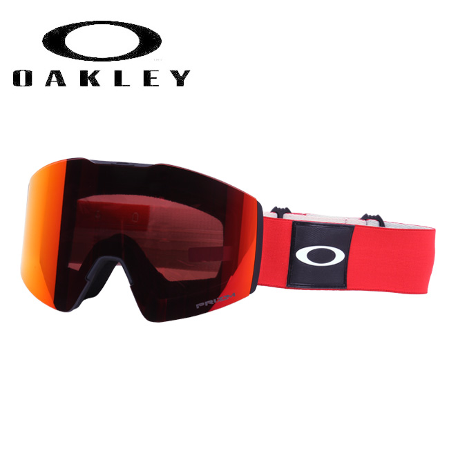 ★ 2020 OAKLEY オークリー Fall Line XL BlockedOut Red Prizm Torch Iridium フォールライン oo7099-13 ゴーグル 【日本正規品/スノーボード/スキー】
