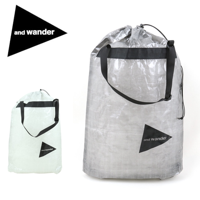 ★ and wander アンドワンダー cuben fiber stuffsack キューベンファイバースタッフサック 574-0975004 【バッグ/収納/旅行/アウトドア】
