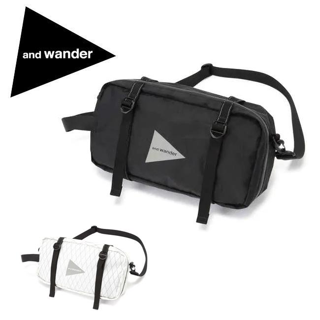 ★ and wander アンドワンダー X-Pac tool bag エックスパック ツールバッグ 574-0975012 【アウトドア/肩掛け/ショルダー/ポーチ】