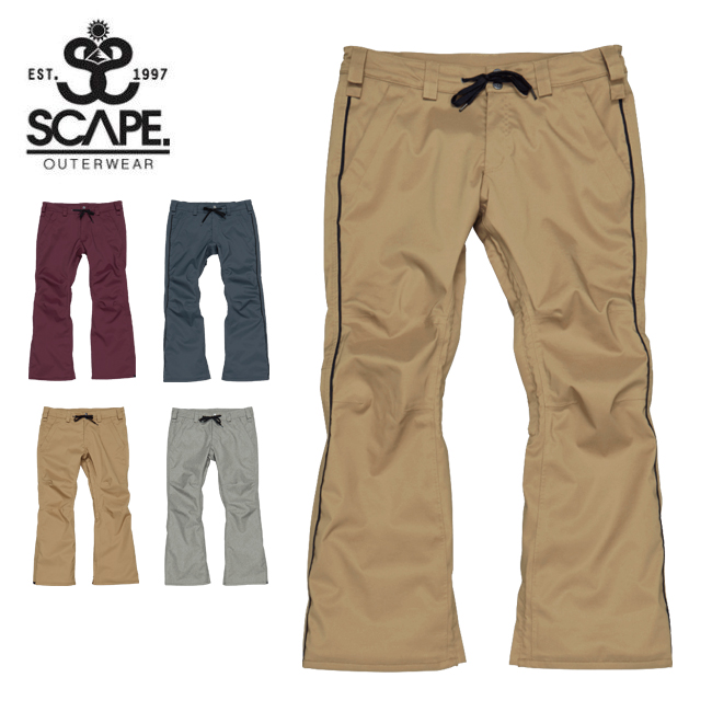 ★ 2020 SCAPE エスケープ RAID PANTS ライドパンツ 71119332 【2020/スノーボードウェア/メンズ/日本正規品】