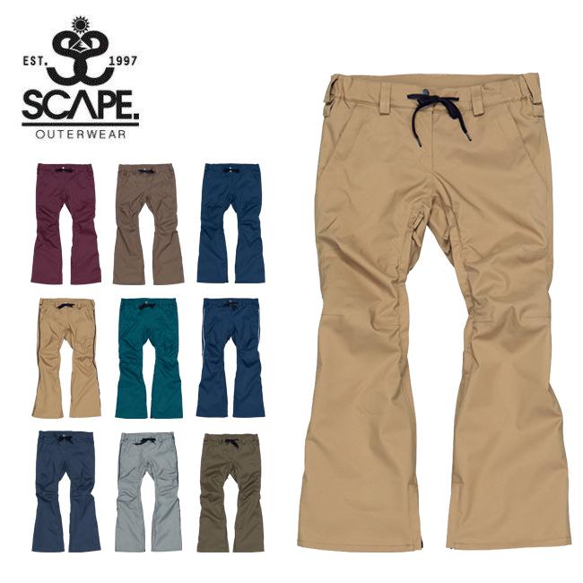 ★ 2020 SCAPE エスケープ CELES PANTS セレスパンツ 71119337 【2020/スノーボードウェア/ウィメンズ/日本正規品】