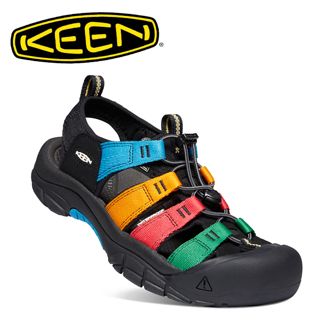 ★ KEEN キーン NEWPORT H2 ニューポートエイチツー MULTI/BLACK 1022259 【サンダル/メンズ/アウトドア/レジャー】