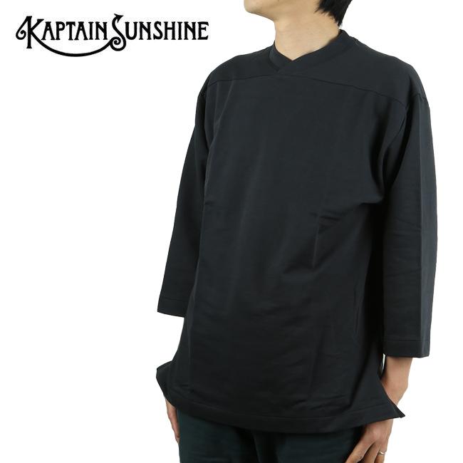 ★KAPTAIN SUNSHINE キャプテンサンシャイン Football Shirt フットボールシャツ KS20SCS03 【トップス/スウェット/アウトドア】