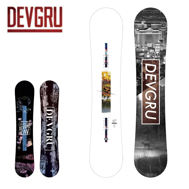 ★2020 DEVGRU デブグルー FAV ファブ 【2020/スノーボード/日本正規品/オガサカ製】
