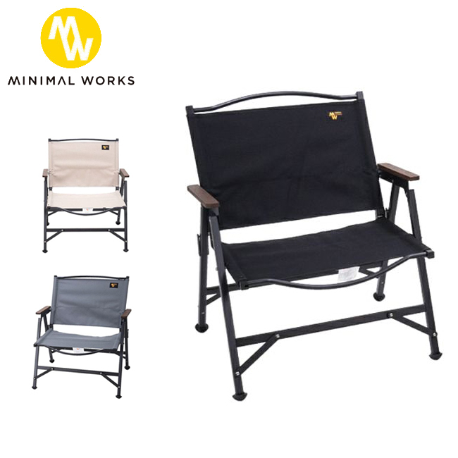 ★MINIMAL WORKS ミニマルワークス LIFE CHAIR B ライフチェア MGFU-LB100-CH0 【椅子/アウトドア/キャンプ】