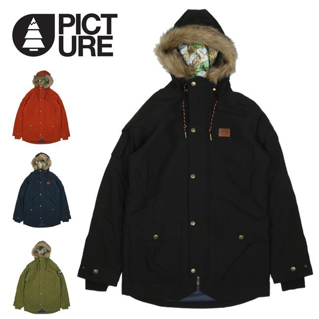 2018 Picture Organic Clothing ピクチャーオーガニッククロージング M'S KODIAK JCKT コディアクジャケット MVT125/585173009 【2018/スノーボードウェア/スノーボード/メンズ】