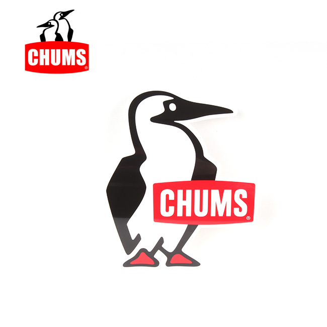 買取 CHUMS チャムス Car Sticker Booby Bird Small 代引不可 シール カスタム 雑貨 特売 カーステッカーブービーバードスモール メール便 CH62-1625