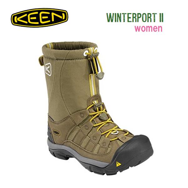 キーン KEEN ブーツ Winterport II /MilitaryOlive /1009886 レディース 【clapper】
