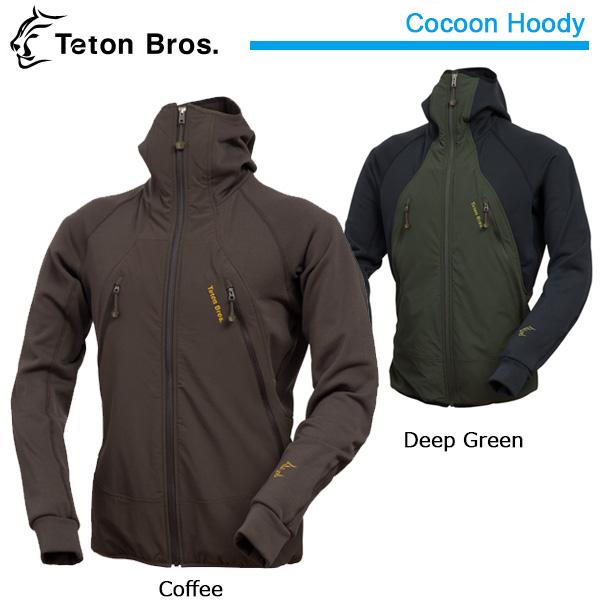 【Teton Bros/ティートンブロス】 ジャケット Cocoon Hoody tb153-090 お買い得 【clapper】