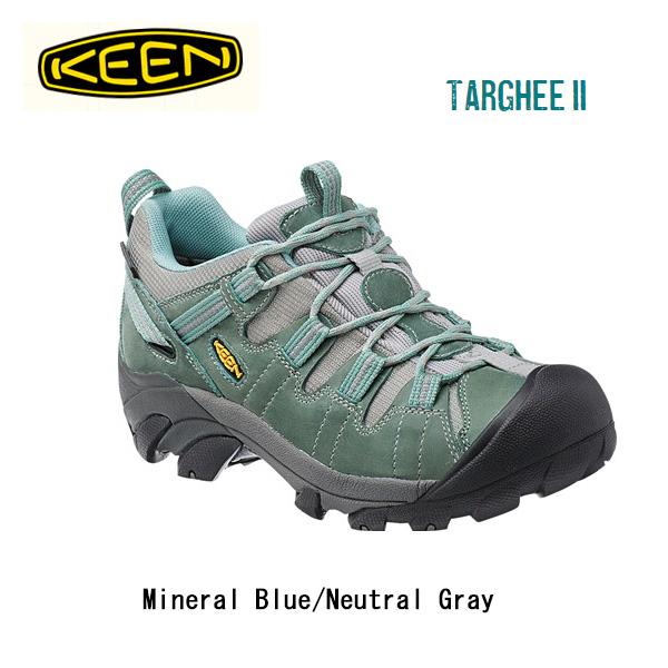 キーン KEEN ブーツ Targhee II WP Mineral Blue/Neutral Gray/ 1014210/レディース 【clapper】