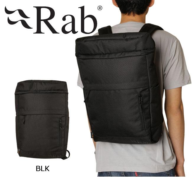 【スマホエントリ限定!P10倍!10/24 10時~】即日発送 RAB/ラブ バックパック Urban Container-Pack BLK RAJ-01