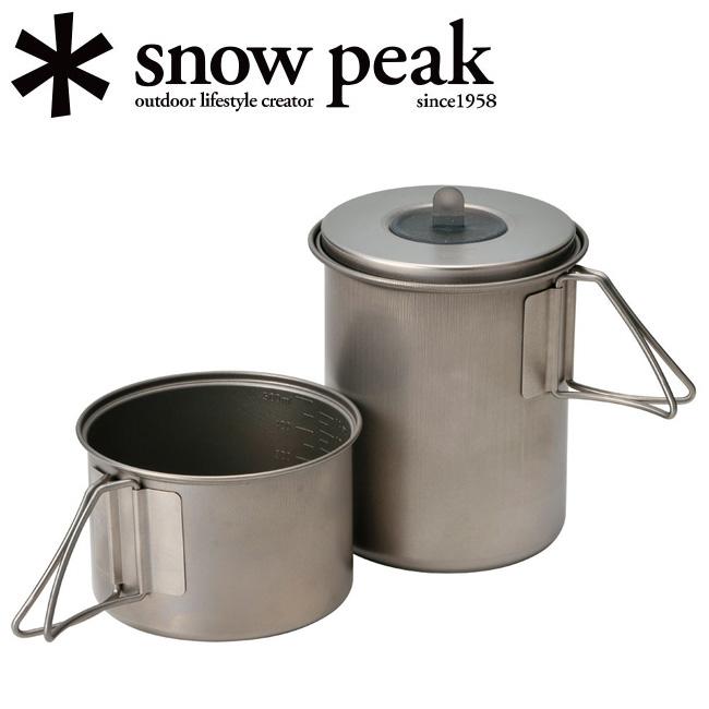 【エントリーで+P7倍7月4日20:00〜7月11日01:59迄】 (snow peak) ソロセットチタン 【CKKR】 【BBQ】 クッカー スノーピーク 【SP-COOK】 SCS-004TR
