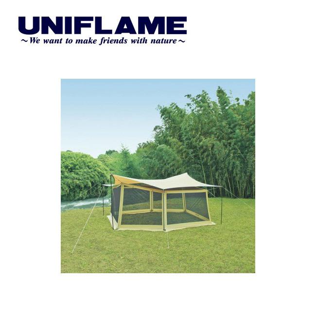 即日発送 【ユニフレーム UNIFLAME】 タープアクセサリー REVOメッシュウォール Lサイズ 681664 【TENTARP】【TZAK】【UNI-TENT】 お買い得
