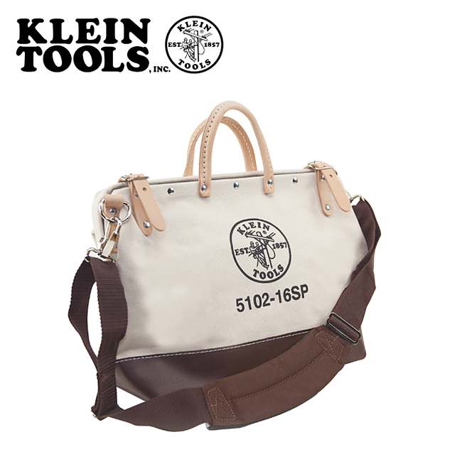 ★ KLEIN TOOLS クラインツールズ Deluxe Canvas Tool Bag 5102-16SP Natural 【カバン】ツールバック キャンバス お買い得