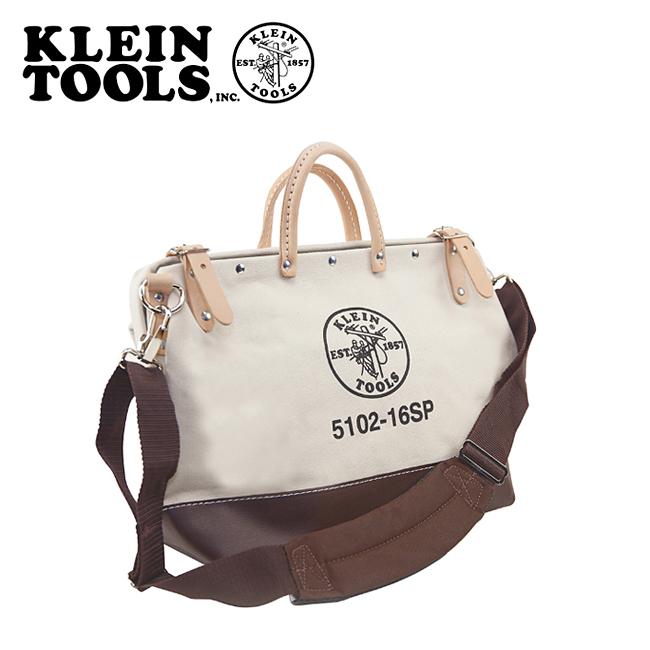 ★ KLEIN TOOLS クラインツールズ Deluxe Canvas Tool Bag 5102-16SP Natural 【カバン】ツールバック キャンバス お買い得