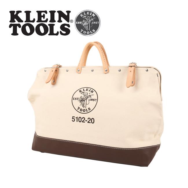 ★ KLEIN TOOLS クラインツールズ Canvas Tool Bag 5102-20 Natural 【カバン】ツールバック キャンバス お買い得