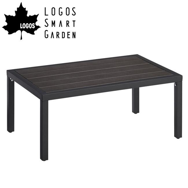 即日発送 ロゴス LOGOS LOGOS Smart Garden モノウッドローテーブル 73200010