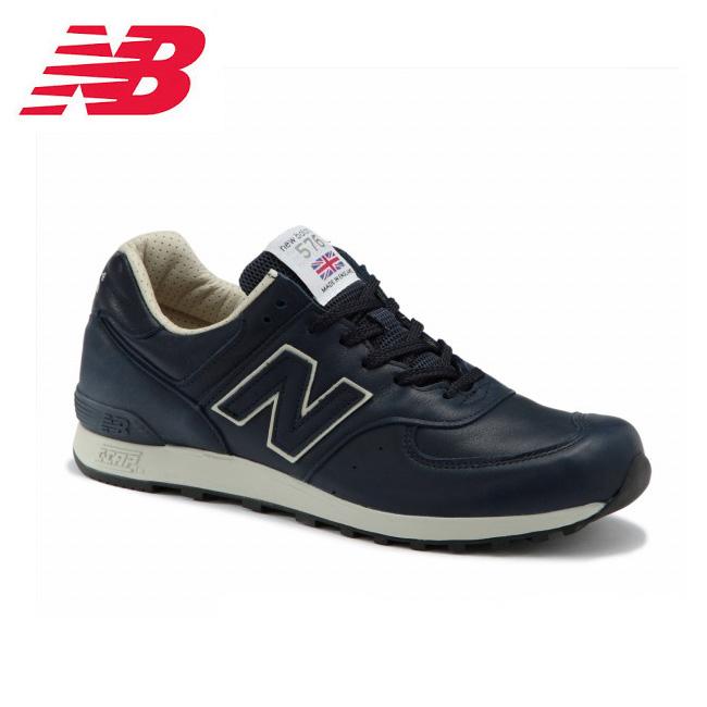 ニューバランス new balance スニーカー M576 CNN NV/BEIGE メンズ 日本正規品 【靴】 Made in England UK 英国製 レザー スニーカー ワイズD 【送料無料】 【ワイズ:D】 【clapper】