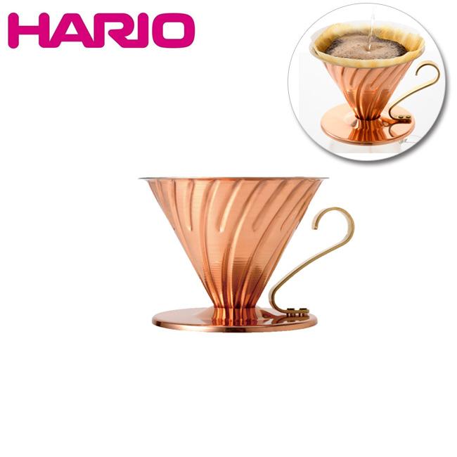 HARIO ハリオ V60カパードリッパー カパー VDP-02CP 【雑貨】 ドリッパー 【clapper】