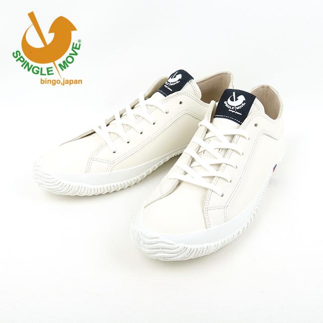 ★ 【サイズ交換送料無料】スピングルムーブ SPINGLE MOVE スニーカー SPM-106 ホワイト White spm106-61 【靴】