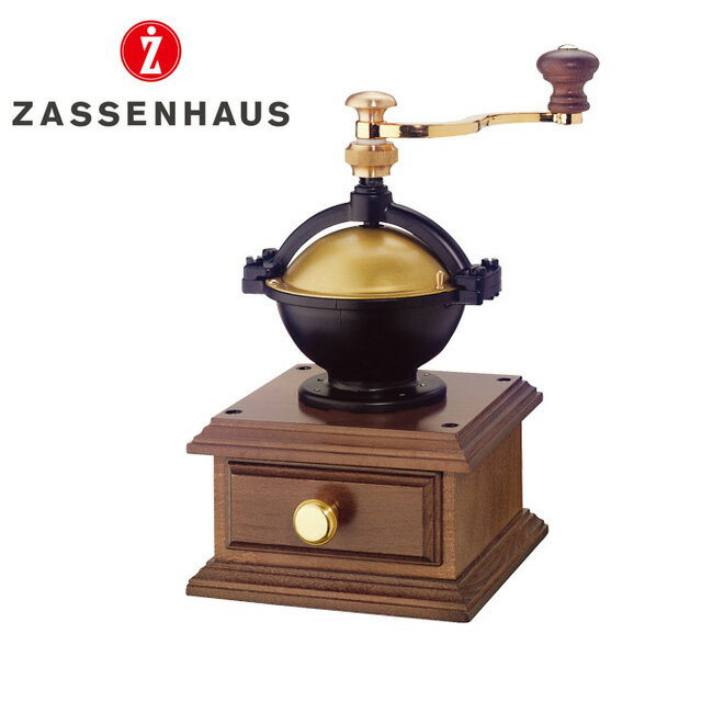 ZASSENHAUS 百貨店 ザッセンハウス コーヒーミル 手挽き ラパス ミル 輸入 MJ-0801 雑貨