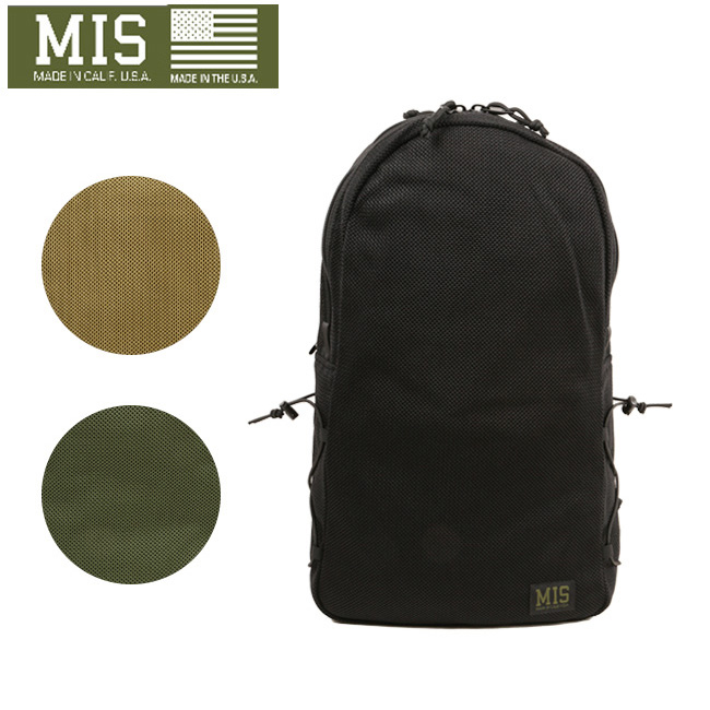 ★ MIS エムアイエス バックパック MESH BACK PACK MIS-1016 【カバン】かばん バッグ リュック ミリタリー